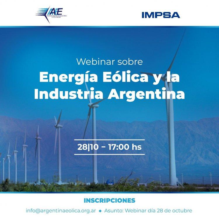 Webinar: Energía Eólica y la Industria Argentina