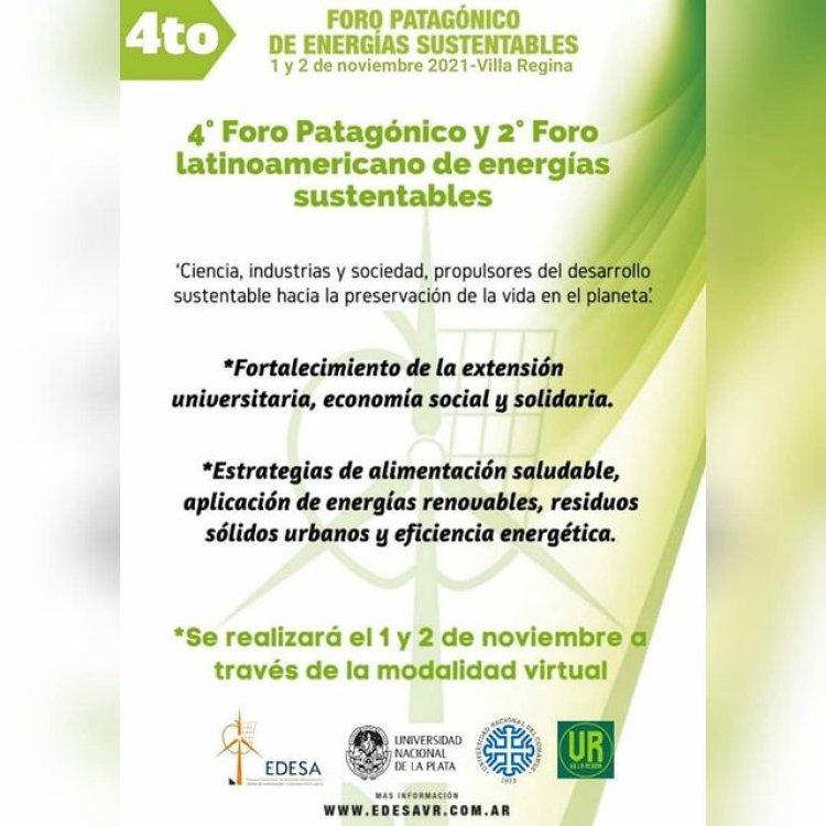 4° Foro Patagónico y 2° Latinoamericano de Energías Sustentables